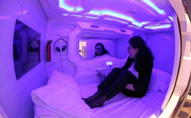 Primer hotel con cápsulas para dormir en la capital eslovena