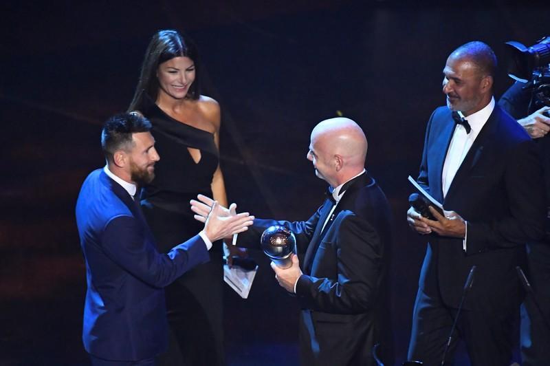 Messi gana premio de la FIFA al Mejor Futbolista del Año por sexta vez en su carrera