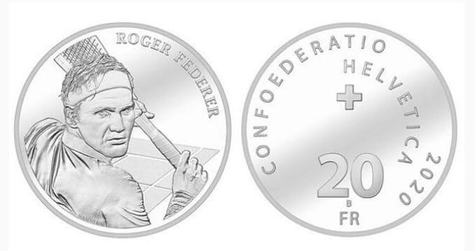 Federer tendrá una moneda en su honor en Suiza