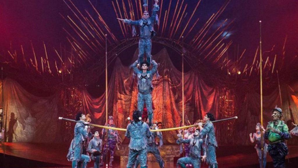 Cirque du Soleil recibe ayuda para sus artistas
