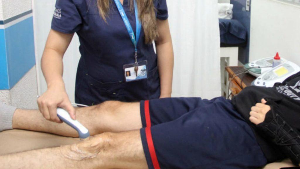 Fisioterapeutas al cuidado de los atletas guatemaltecos