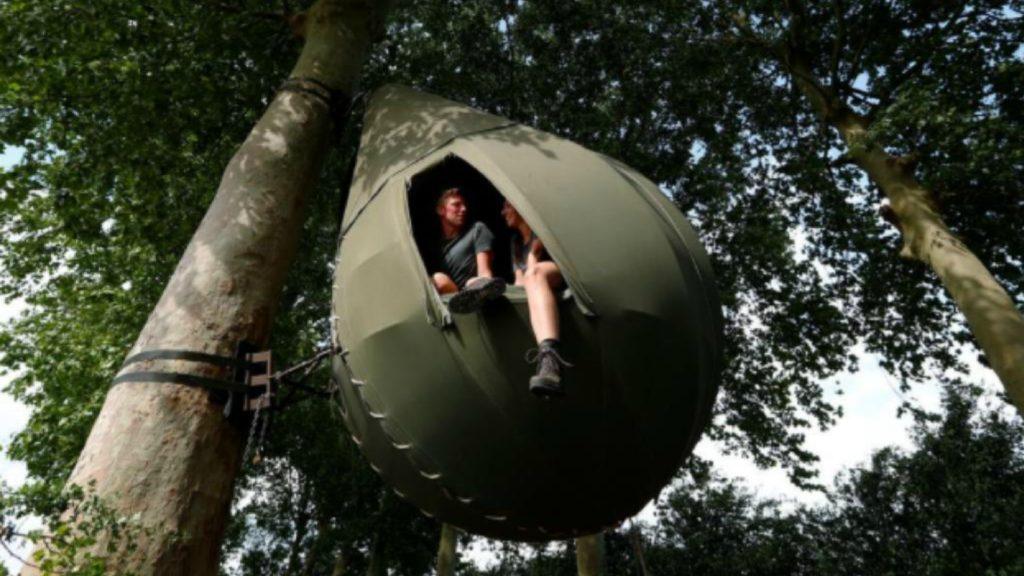 Vacaciones en los árboles la nueva forma de descansar