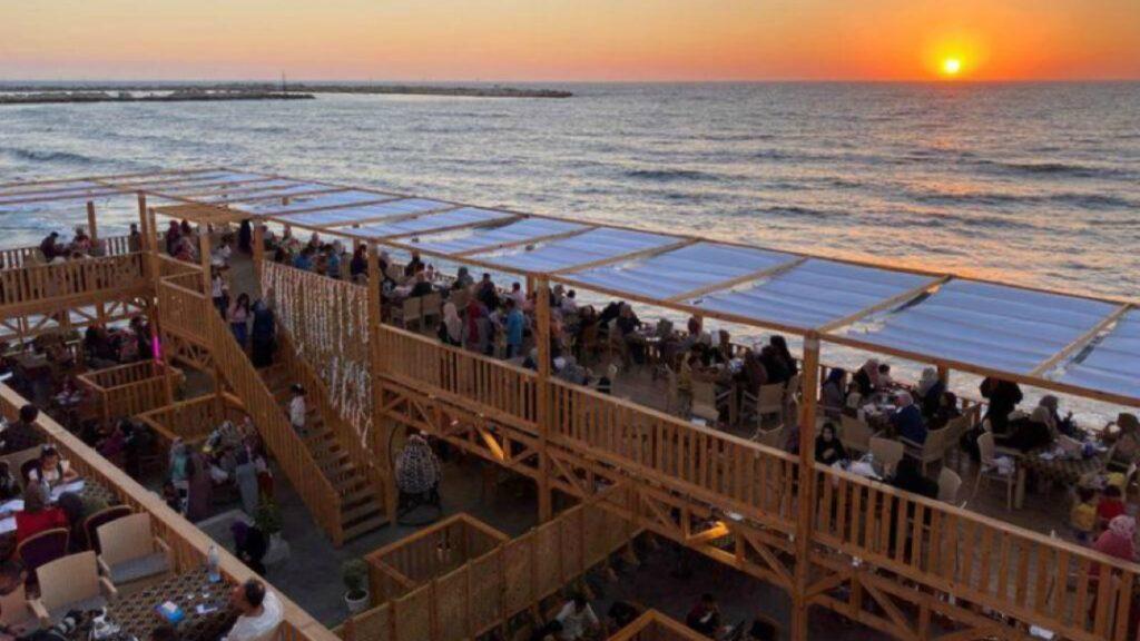"""""""Destino Soñado"""" ofrece el sabor del paraíso en Gaza"""