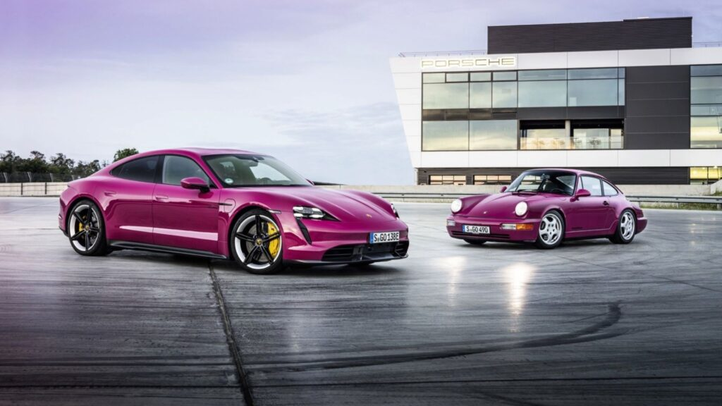 Porsche mejora el Taycan con la versión 2.0