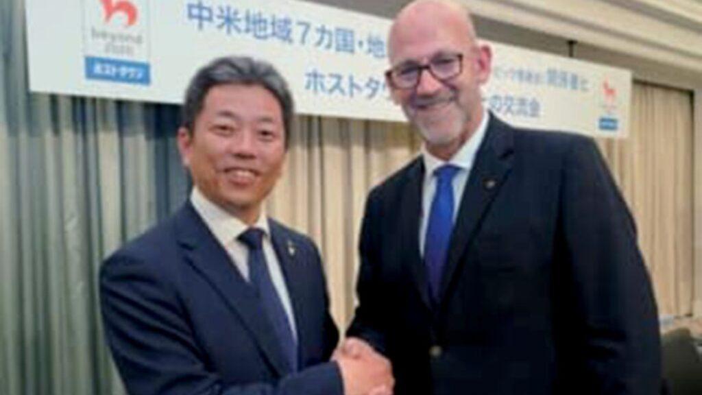 """Presidente del COG recibe """"Distinción del Ministro de Asuntos Exteriores del Japón"""""""
