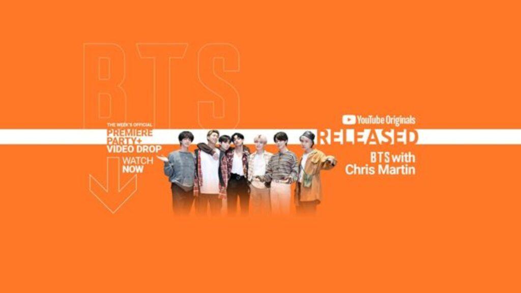 """BTS estará presente en """"RELEASED"""" el 9 de septiembre"""