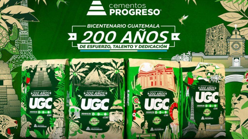 Cementos Progreso junto a UGC presentan Sacos Conmemorativo