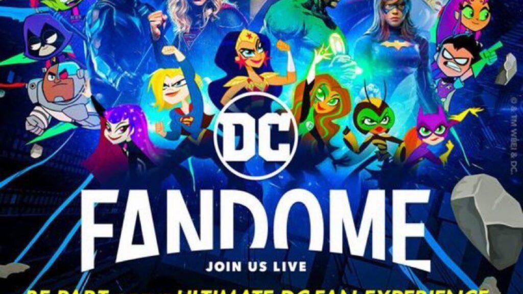 DC Fandom 2021 ya tiene póster, fecha y horarios oficiales