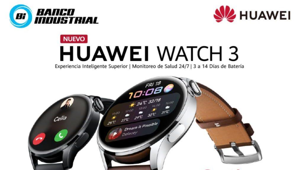 Huawei ofrece beneficios exclusivos a clientes de Banco Industrial