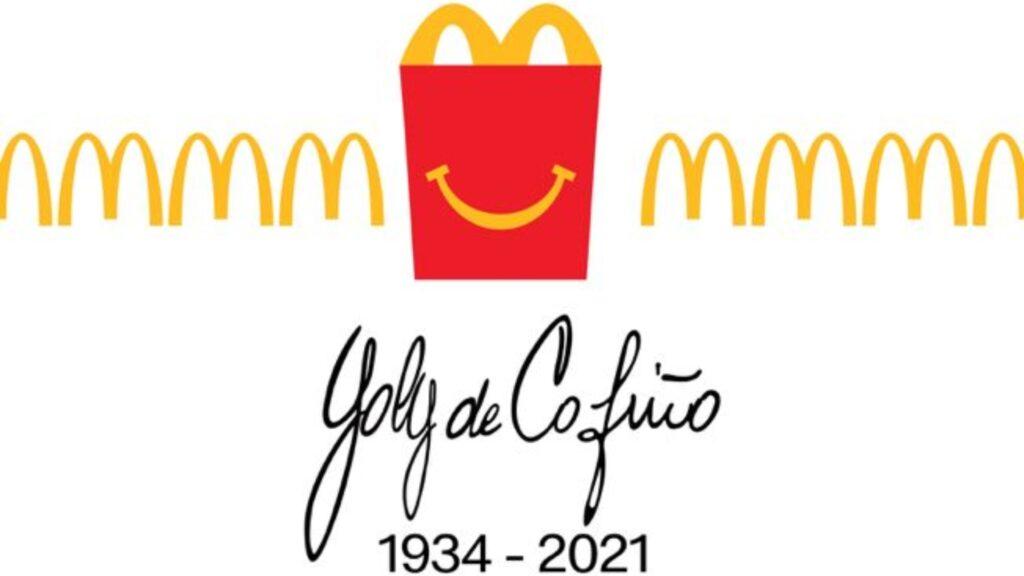 McDonald's presenta Cajita Feliz en honor a Yolanda de Cofiño