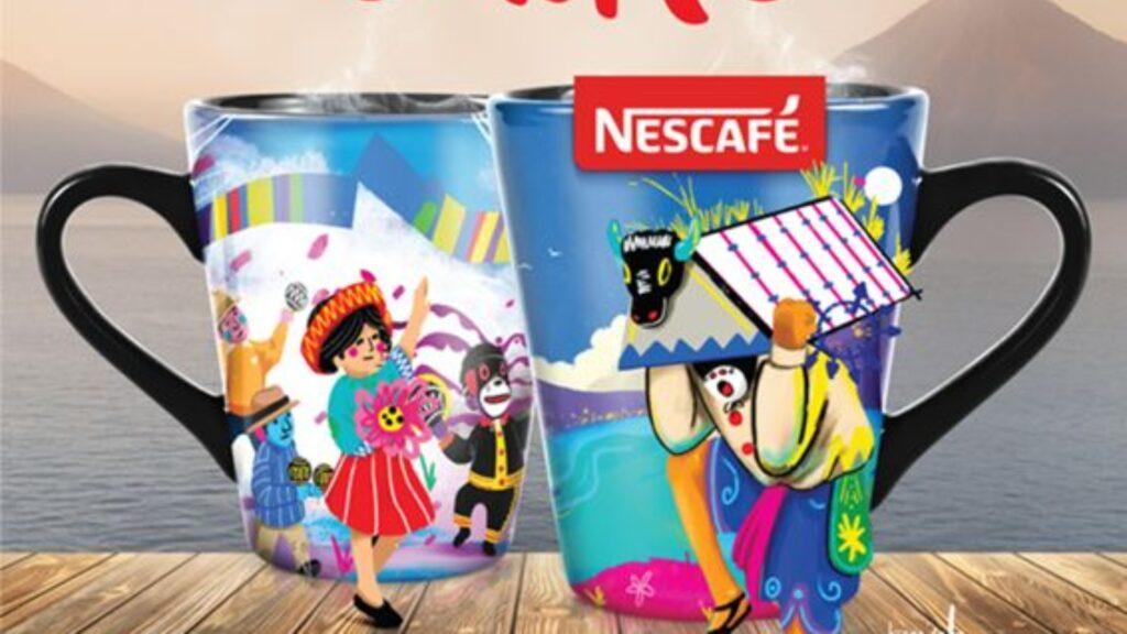 NESCAFÉ celebra a GUATEMALA Con el arte de Luis Fernando Izquierdo