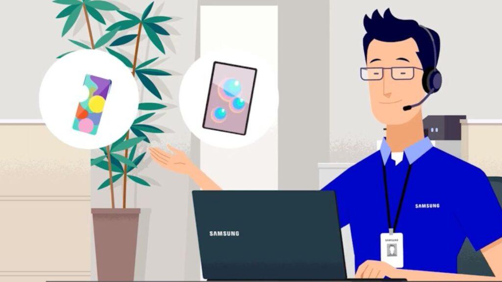 Samsung ofrece servicio de atención remota para Tv y dispositivos Galaxy