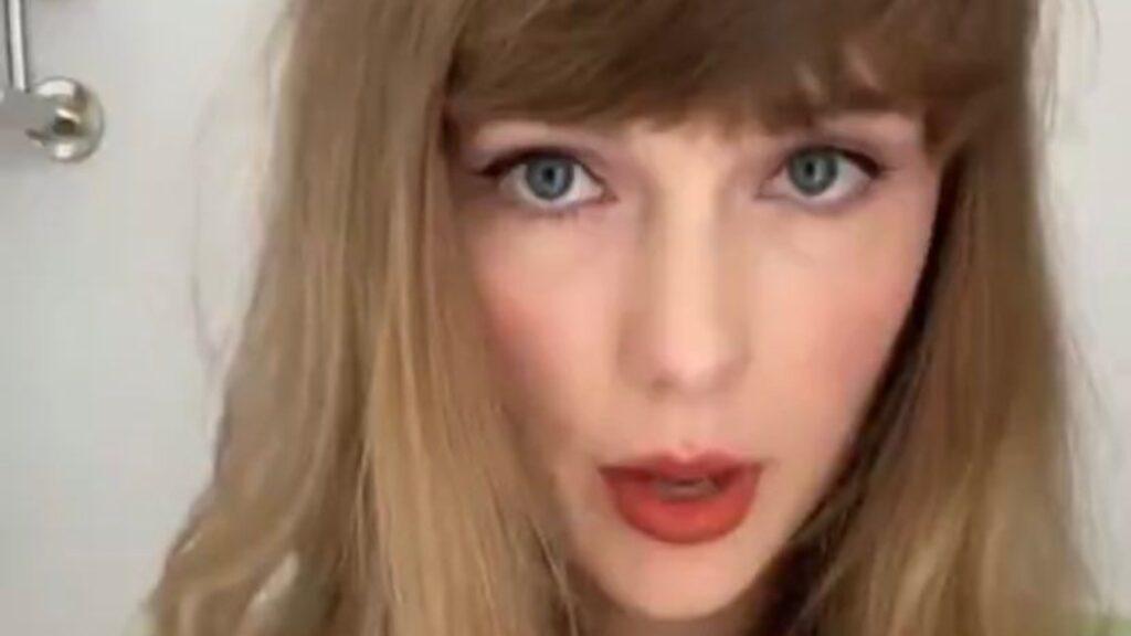Taylor Swift arrasa en Tik Tok junto a su gato